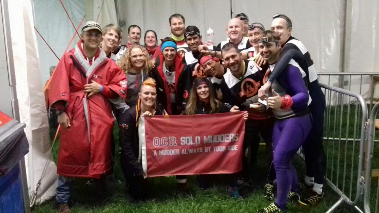 OCR Solo Mudders in the pit