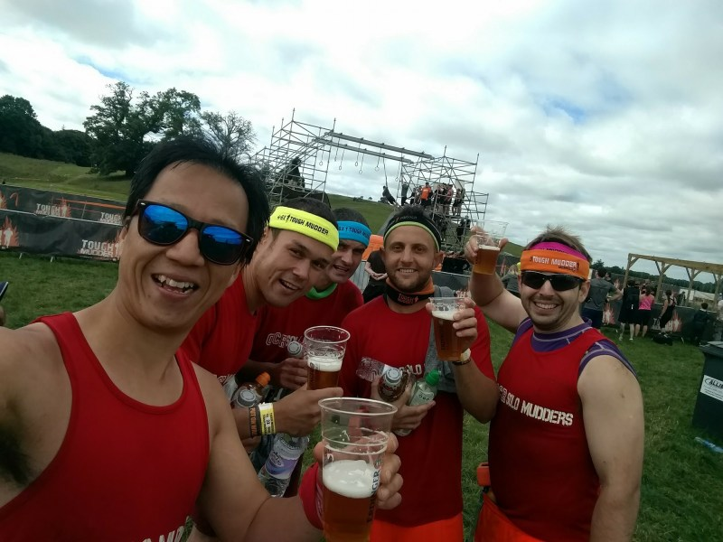 Tough Mudder Ireland 2017 Finish Line Beer