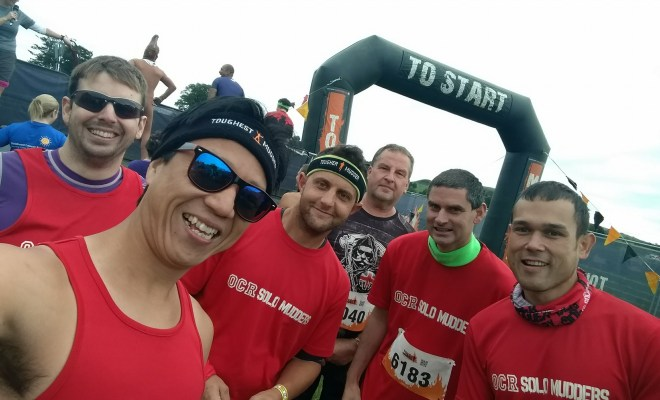 Tough Mudder Ireland 2017 Start Line Selfie