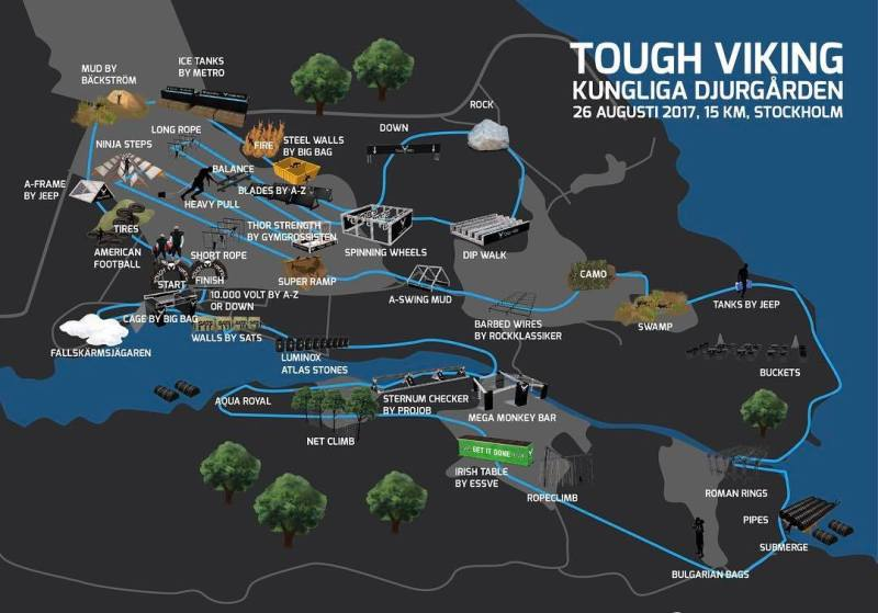 Tough Viking Royal Djurgarden 2017 Race Review Wil Chung