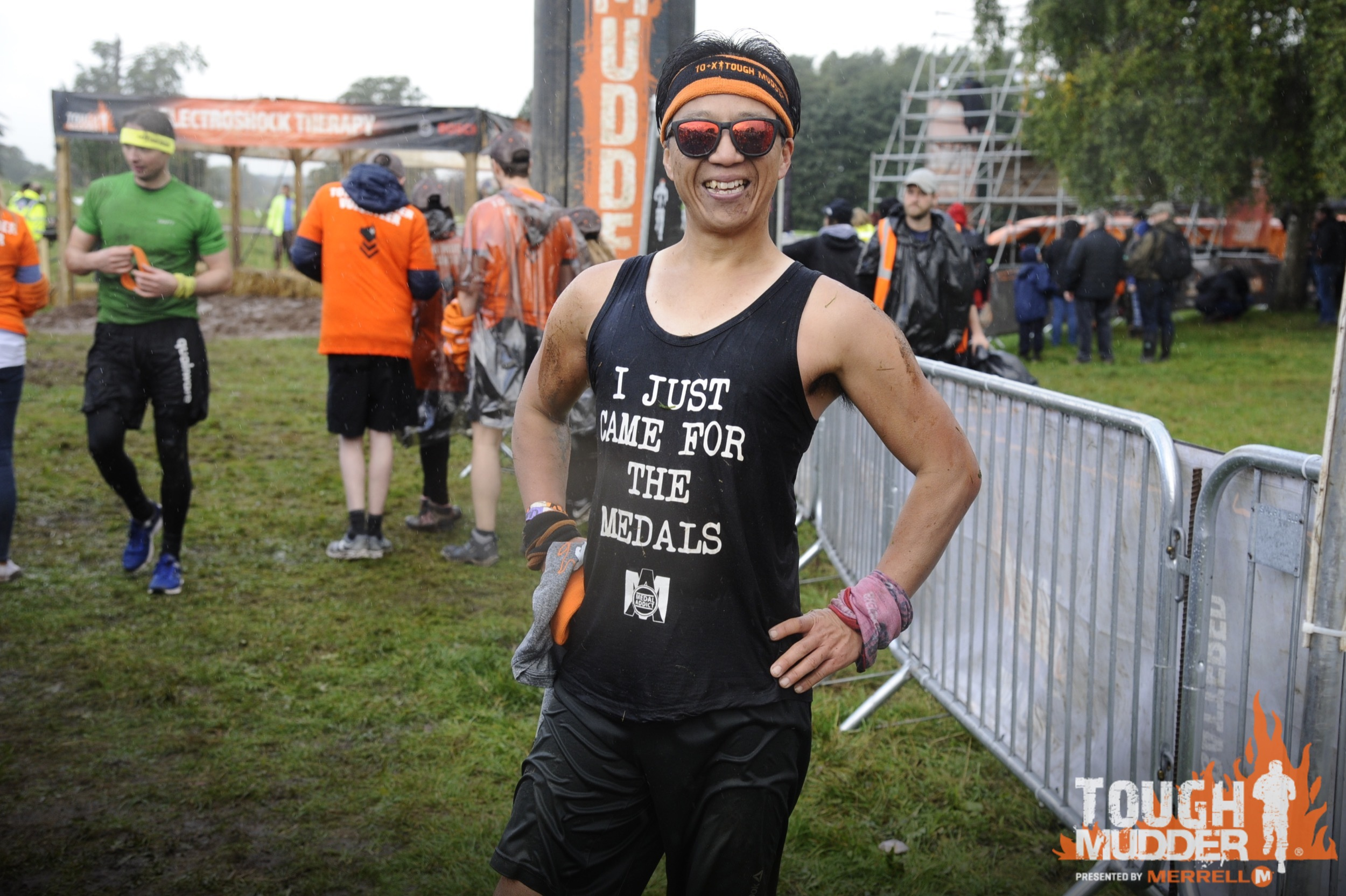 Tough Mudder north west finish Line 2