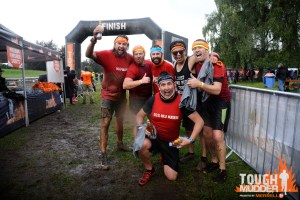 Tough Mudder north west finish Line