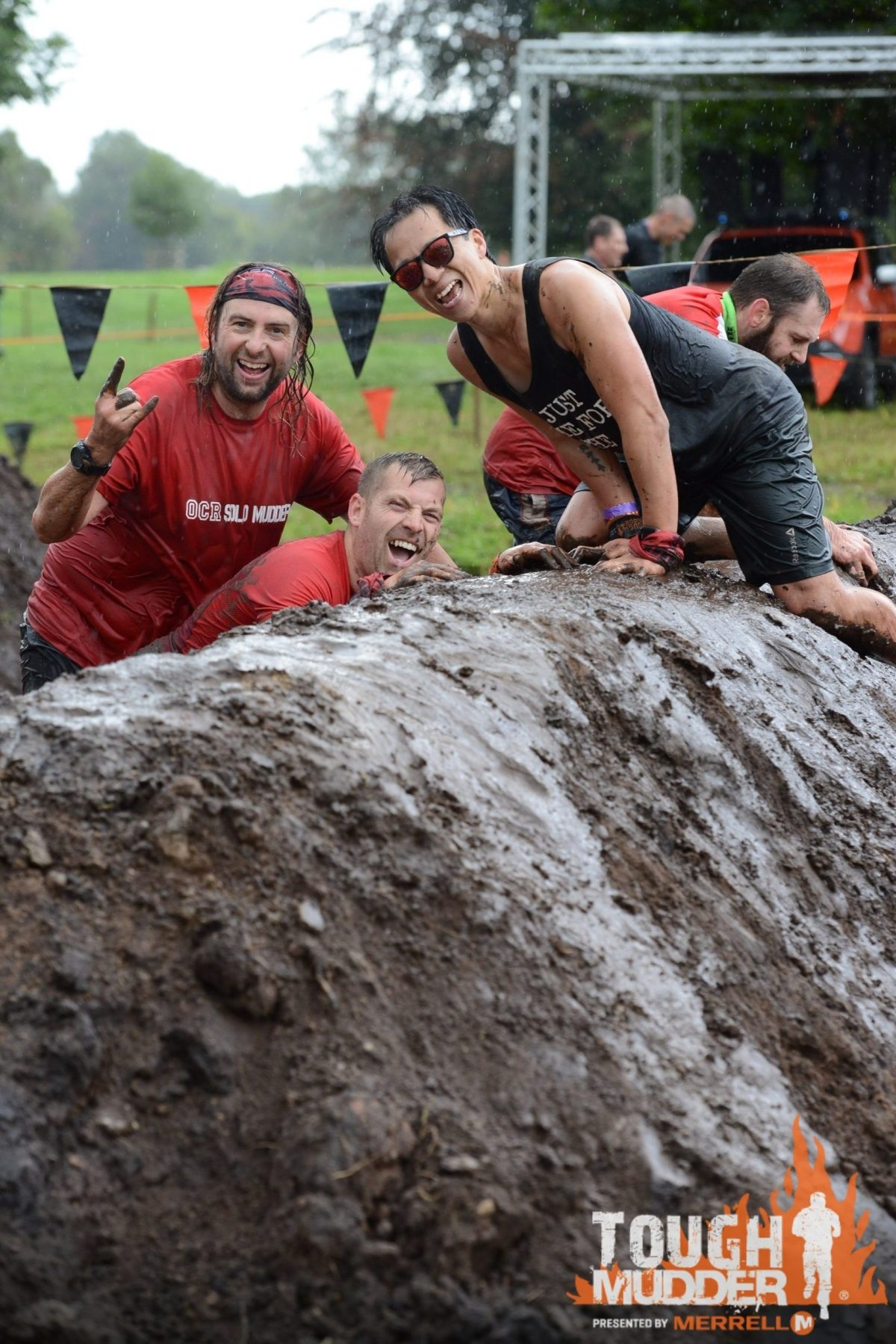 Tough Mudder north west Mud mile