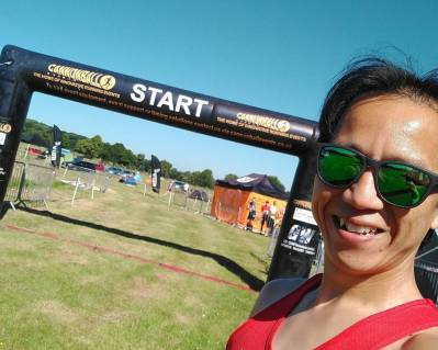 Cannonball Events Trailblaster 2018 Start Line