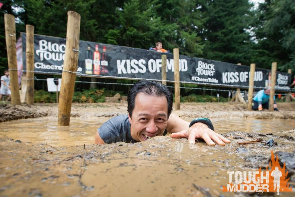 Kiss of Mud obstacle
