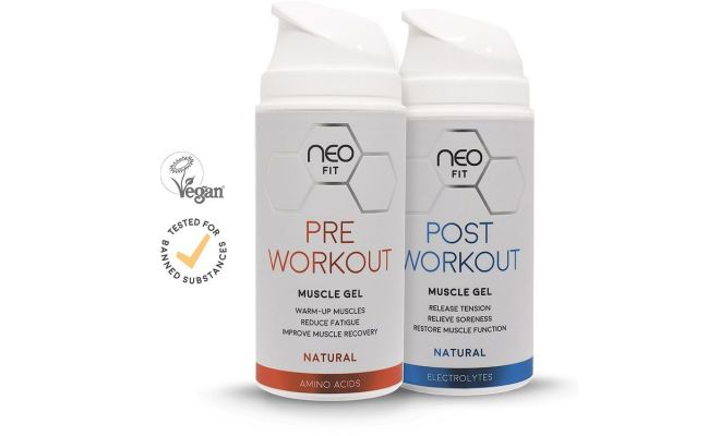 Neo-Fit Muscle Gels for pre and post workout
