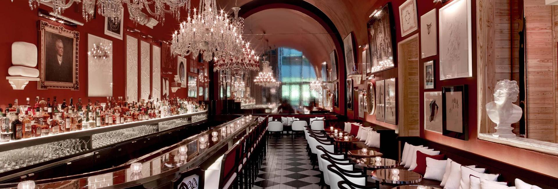 hotel interior baccarat hotel the bar 2 2015 - Baccarat Hotel
