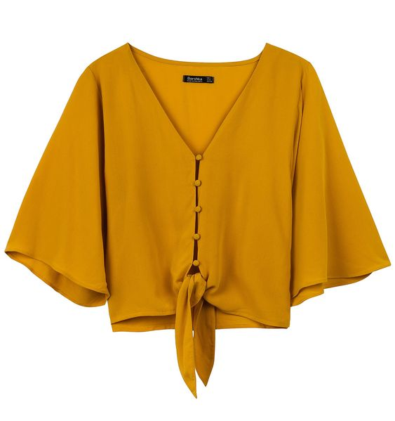 Blusa naranja - producto