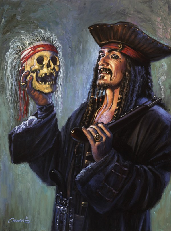 Blackbeard Pirate Art