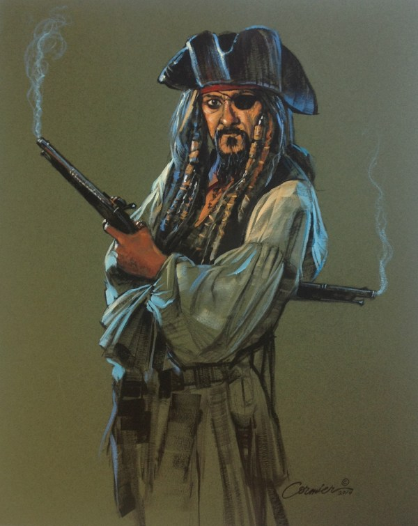 Pirate With Pistols Wil Cormier Fine Art