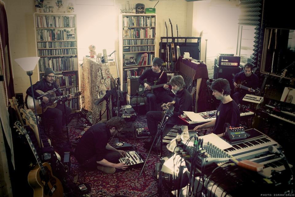 Wilco Recording in The Loft