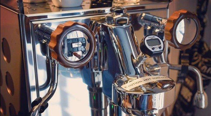 Rocket Espresso Handmade Black Walnut Coffee Parts