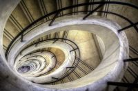 Brindisi, The Oval Spiral Staircase Of The Sailors Monument