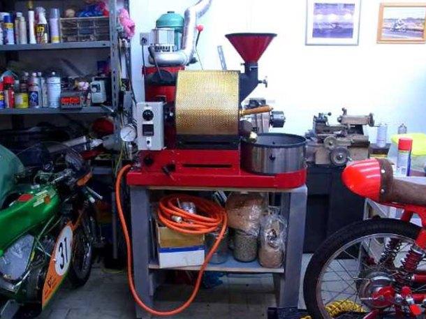 ナナハン焙煎機