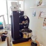 東京都杉並区にアポロ焙煎機を設置しました。