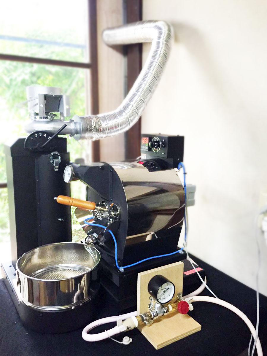 東京都吉祥寺にアポロ焙煎機を設置致しました。