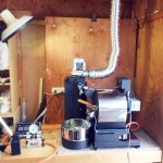 栃木県佐野市にアポロ焙煎機を設置しました。