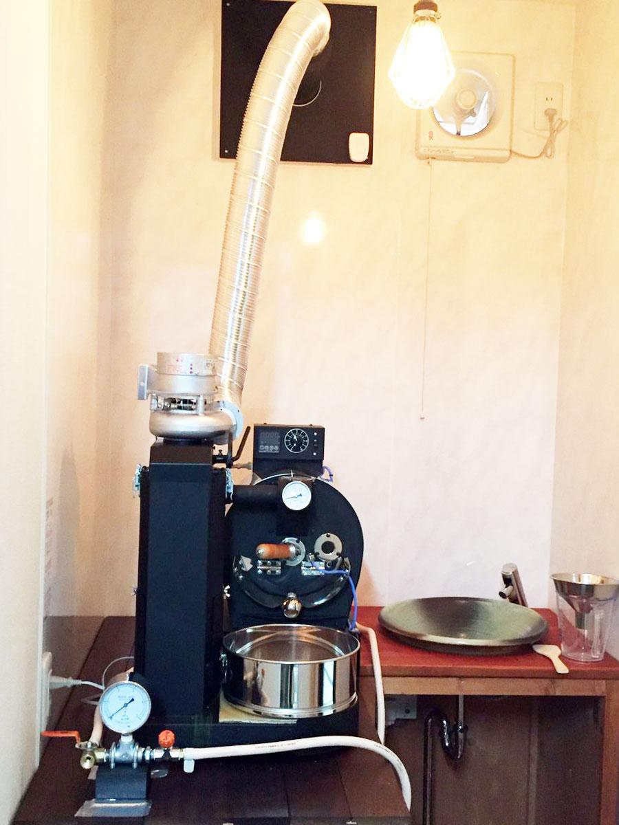 千葉県船橋市にアポロ焙煎機を設置しました。