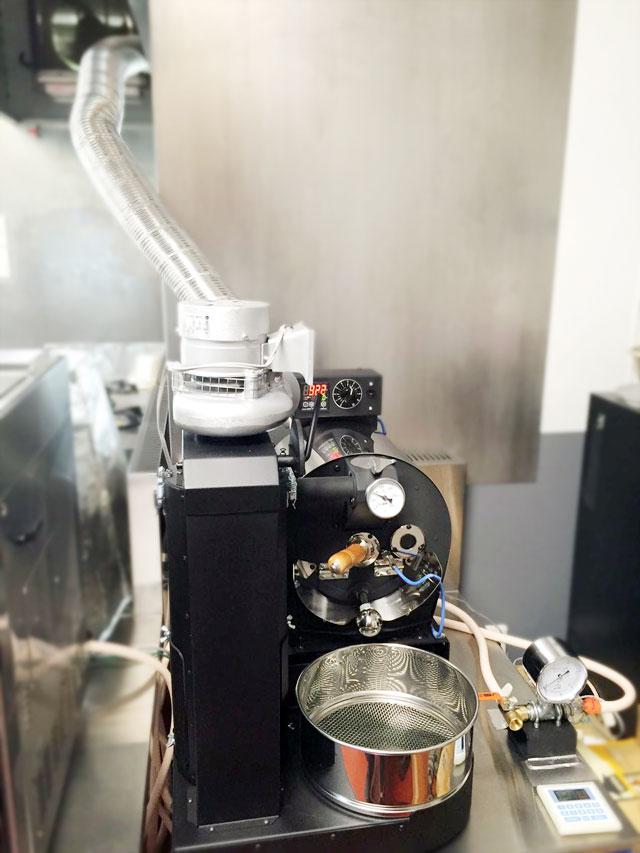 兵庫県加古川市にアポロ焙煎機を設置しました。