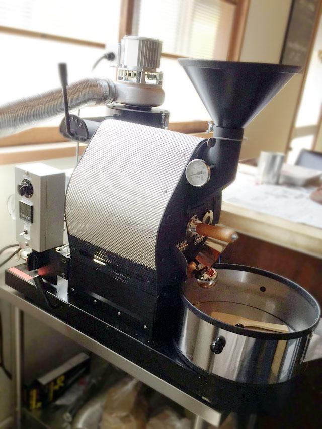 兵庫県神戸市灘区にナナハン焙煎機を設置しました。