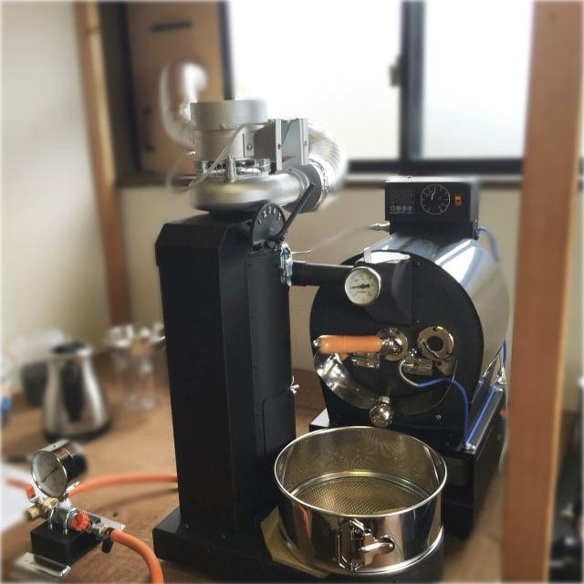 石川県金沢市にアポロ焙煎機を設置しました。