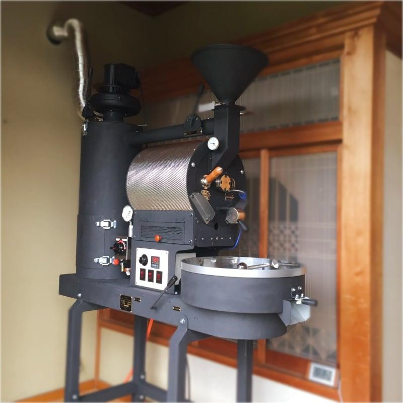 埼玉県比企郡に2kg焙煎機を設置しました。
