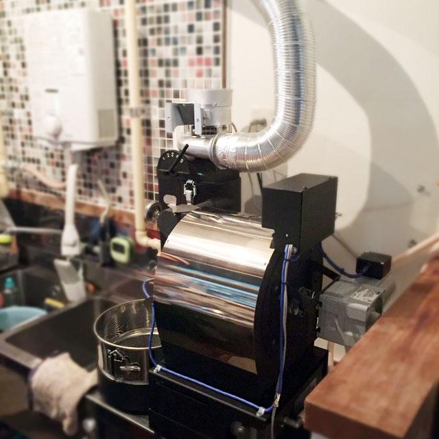愛知県名古屋市にアポロ焙煎機を設置しました。