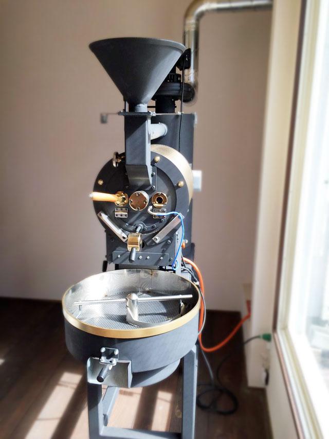 岩手県盛岡市に2kg焙煎機を設置致しました。