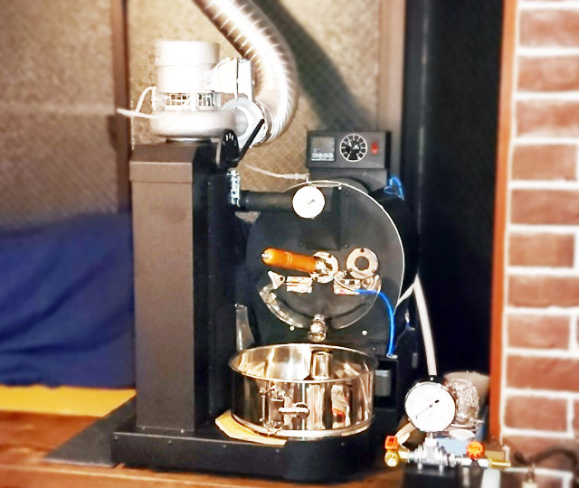神奈川県横浜市保土ヶ谷区にアポロ焙煎機を設置しました。