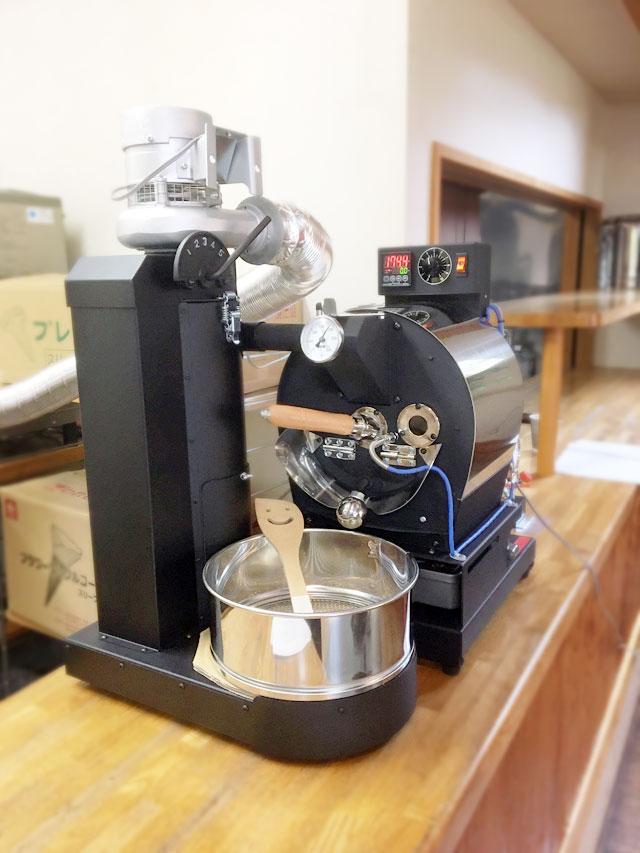 静岡県富士宮市にアポロ焙煎機を設置しました。