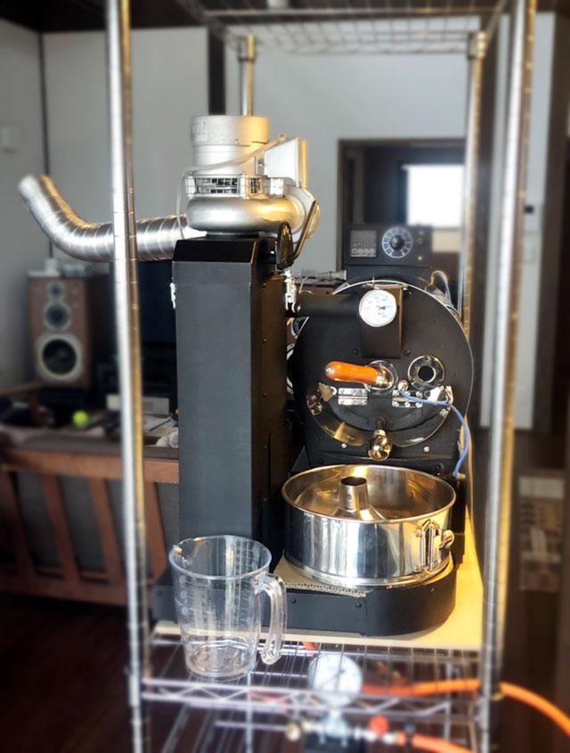 秋田県上山市にアポロ焙煎機を設置しました。