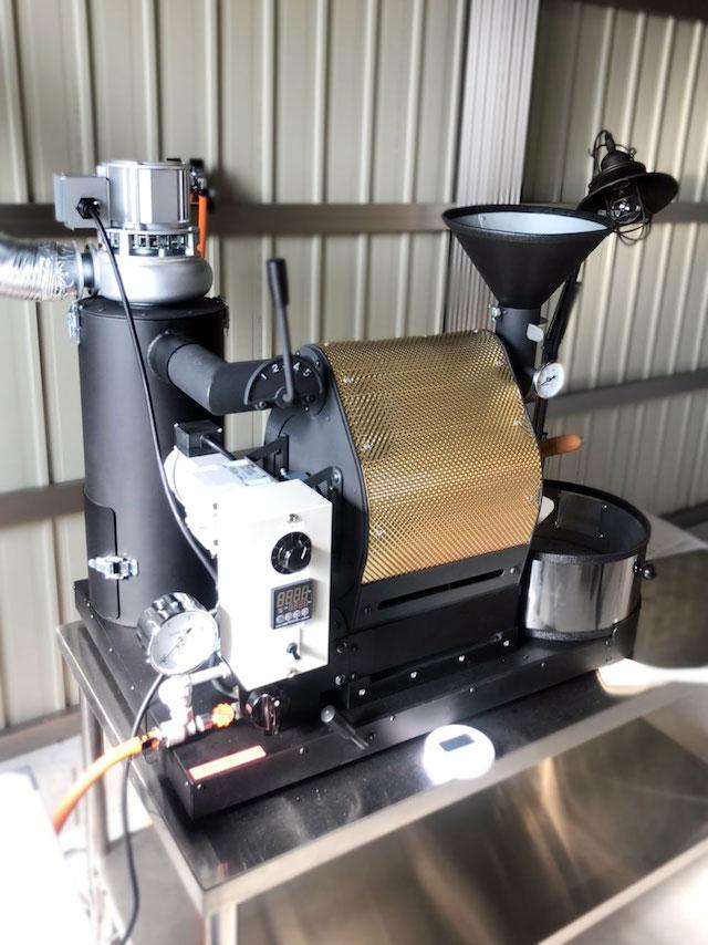 愛知県安城市にナナハン焙煎機を設置しました。