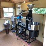 大分県杵築市にvasic 2,5kg焙煎機を設置しました。