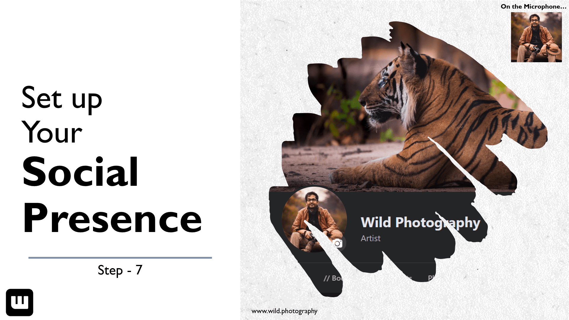 Set Up Your Social Presence Alvis Lazarus Wild Photography