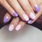 magnificent -moon nail design