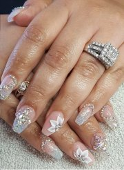 fairy- wedding nails