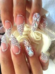 fairy- wedding nails