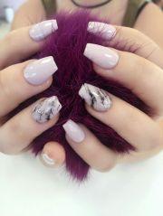 marble nail design elegant