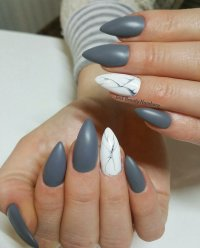 28 Marble Nail Designs For An Elegant And Strong Look ...