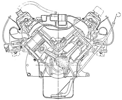 Engine For Triumph Spitfire TR4A Engine Wiring Diagram