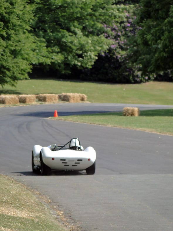car race track at crystal palace