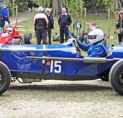 Classic car races at Crystal Palace for London family day out