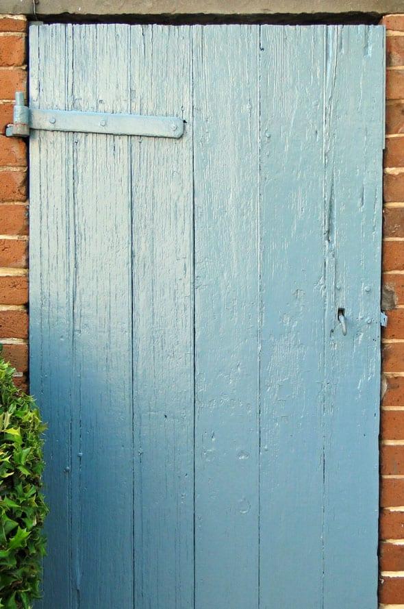 Haint blue door