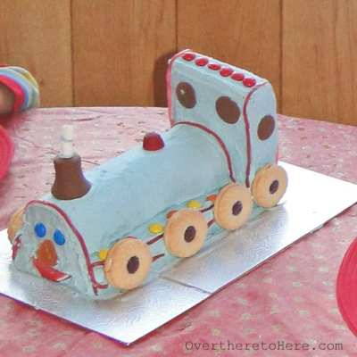 Children's birthday cakes, books and recipes