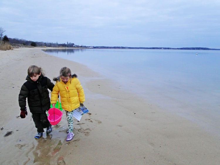 beachcombing zen kids