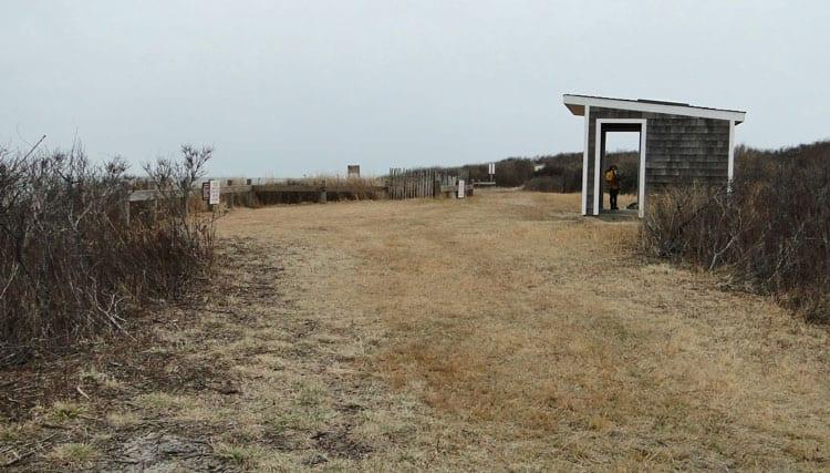 Seal Haul Montauk observation shelter