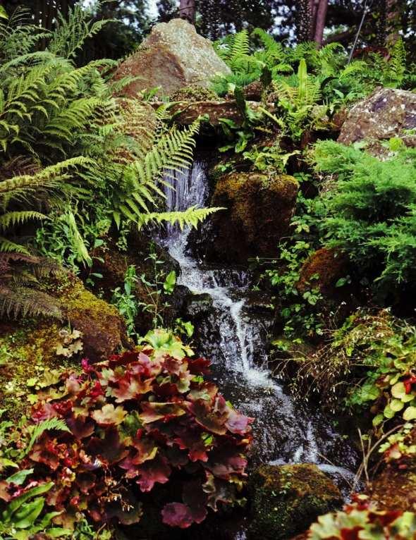 waterfall RHS Garden Wisley