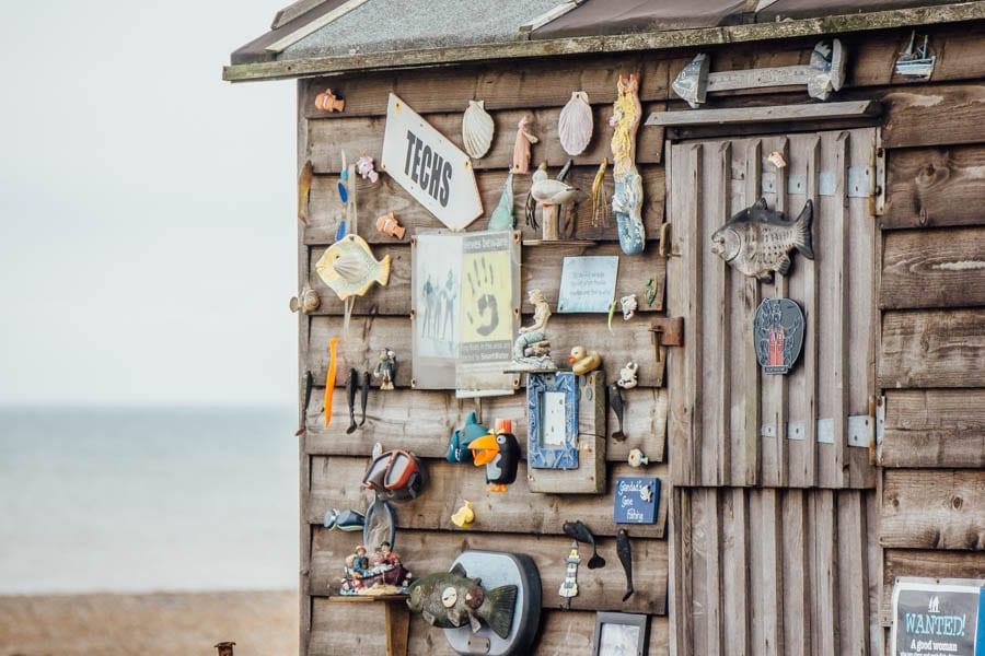 Dungeness fishing hut