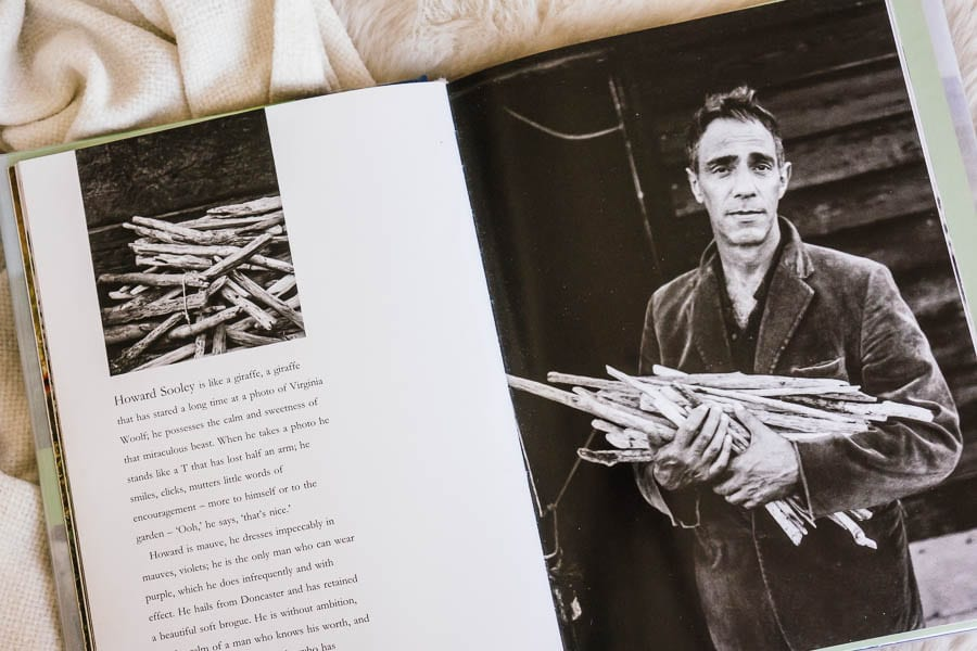 Derek Jarman photo by Howard Sooley in book