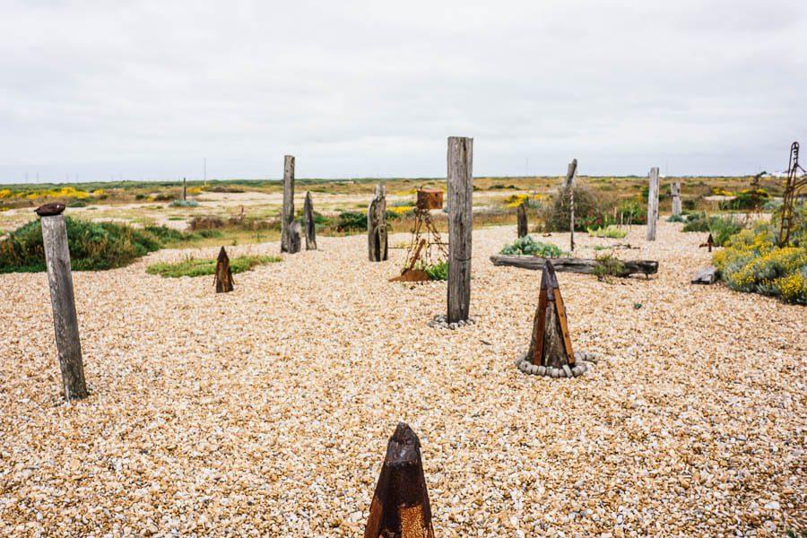 Derek Jarmans Garden sculpture garden